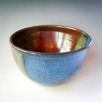 Ceramic Serving Bowl, One-Quart Bowl, Pottery Serving Bowl, Mixing Bowl - handmade ceramics