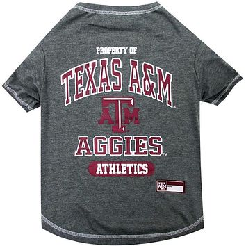 Texas A&M Aggies Pet T-Shirt