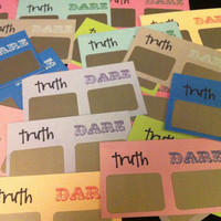 24 Truth or Dare Scratchoff Cards - Bachelorette Party Pack
