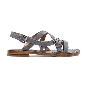 Belle by Sigerson Morrison Arson Sandals in Gray