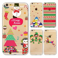 Christmas cover for iphone 6 6s Plus 5 5s Case