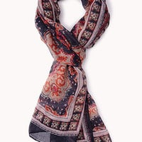 Vibrant Printed Scarf | FOREVER 21 - 1000093103