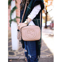 One-nice™ Gucci Women Leather Shoulder Bag Crossbody Satchel