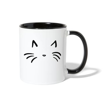 Cat Contrast Coffee Mug