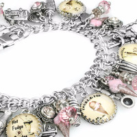 Ice Cream Jewelry, Dessert Bracelet
