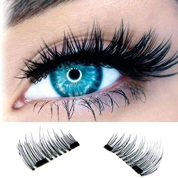 Magnetic 3D Eyelashes Extension
