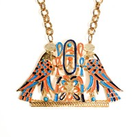 Accessocraft N.Y.C. Egyptian Winged Falcon Statement Necklace