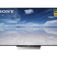 "Sony - 75"" Class (74.5"" diag) - LED - 2160p - Smart - 4K Ultra HD TV with High Dynamic Range - Black"