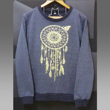 Dream catcher sweater butterfly sweatshirt winter jumper sweaters /men women sweaters /long sleeve crew neck tee size S M L XL XXL