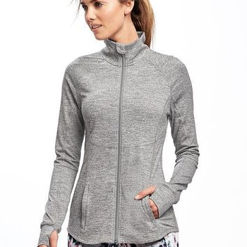 Go-Dry Compression Jacket for Women | Old Navy