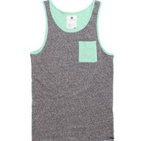 On The Byas Flex Color Blocked Tank Top - Mens Tee - Gray -