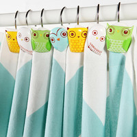 Urban Outfitters - Owl Shower Ring - Set of 12