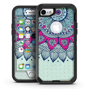 Vintage Mandala - iPhone 7 or 7 Plus OtterBox Defender Case Skin Decal Kit