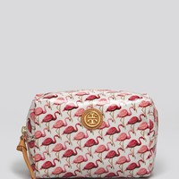 Tory Burch Cosmetic Case - Brigitte Flamingo | Bloomingdale's