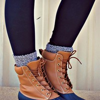 Dynasty Boots - Blue