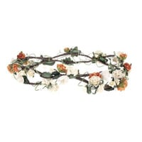 Woodlands Circlet, Childrens Headdresses, Wedding Headdresses, Floral Bands, Circlets, Flower Girls Headdrsses, Bridesmaid Headdresses.