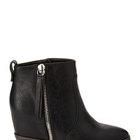 FOREVER 21 Hidden Wedge Booties