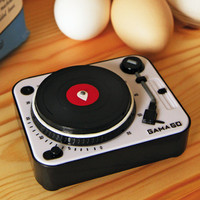Turntable Kitchen Timer – Graffiti Beach - Indie Brands Revealed