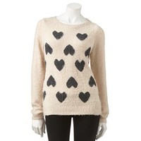 LC Lauren Conrad Heart Sweater
