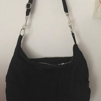 Design Your Handbag Black or pink Shoulder bag Across Body Adjustable Strap Boho H0b0 Large Slouchy bag 2 sizes Meduim or Large size