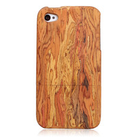 Iphone4/4s Rainbow wooden case