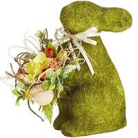 Mossy Bunny with Eggs