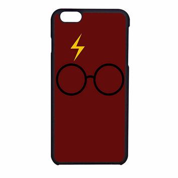 Harry Potter Glasses And Lightning Bolt iPhone 6SS Case