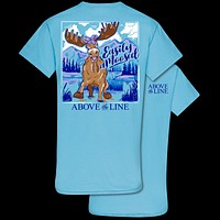 Couture Above The Line Collection Easily Amoosed Moose T-Shirt
