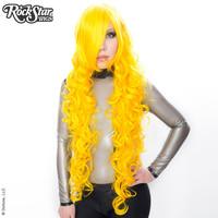 """Cosplay Wigs USA™  Curly 90cm/36"""" - Yellow -00378"""