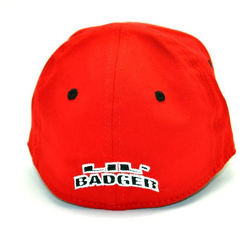 Wisconsin Badgers Infant One-Fit Hat, Red/White