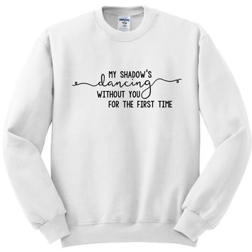 Niall Horan - Too Much To Ask - My Shadow's Dancing Crewneck Sweatshirt