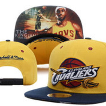 SOLD OUT Cleveland Cavaliers LeBron James The King 2016 Snapback Caps