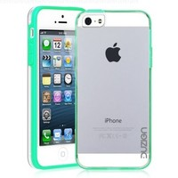 Duzign Transparent Snap On Case (Mint) for Apple iPhone 5:Amazon:Cell Phones & Accessories
