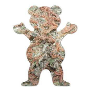Grizzly Griptape Grizzly Griptape Kush Bear Sticker