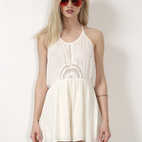 Gab & Kate Early Riser Romper - Cream