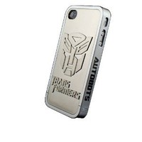 Hard Case Cover for Iphone 4 4s 4g 3d Transformer Metal Skin Design with Screen Protector