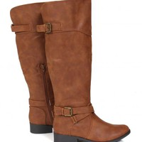 Like Real People Do Camel Boots | Monday Dress Boutique