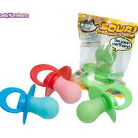 Sour Baby Pacifier Lollipops: 12-Piece Box | CandyWarehouse.com Online Candy Store