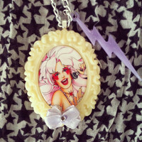 Jem and the Holograms Necklace by EILH on Etsy