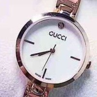 VONEGZ GUCCI Fashion Women Quartz Movement Watch Wristwatch Pink G