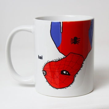Spoderman Mug Cup