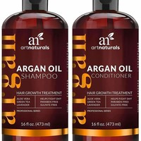ArtNaturals Moroccan Argan Oil Hair Loss Shampoo & Conditioner Set