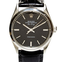 CMT Fine Watch and Jewelry Advisors Rolex Airking 5500 Black