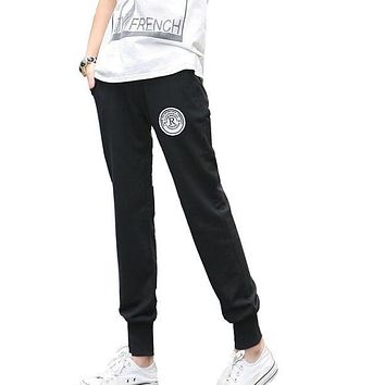New 2014 Pants Women Print 100% Cotton Women's Cotton  Pants Casual Loose Thin Trousers Ankle Length Pencil Pants S-XXL