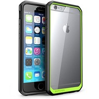 iPhone 6 Case, SUPCASE Apple iPhone 6 Case 4.7 inch [Unicorn Beetle Series] Premium Hybrid Protective Bumper Case Cover for iPhone 6 (Clear/Green/Black)