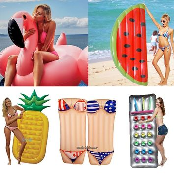 6 Style Giant Inflatable Pool Float