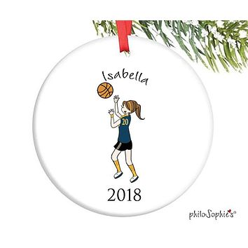 Basketball Ornament - personalized philoSophie's