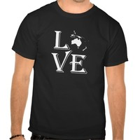 Love Oceania Continents T-shirt