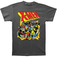 X-Men Men's  Breakthrough T-shirt Charcoal