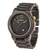 WeWood Alpha Black & Gold Watch